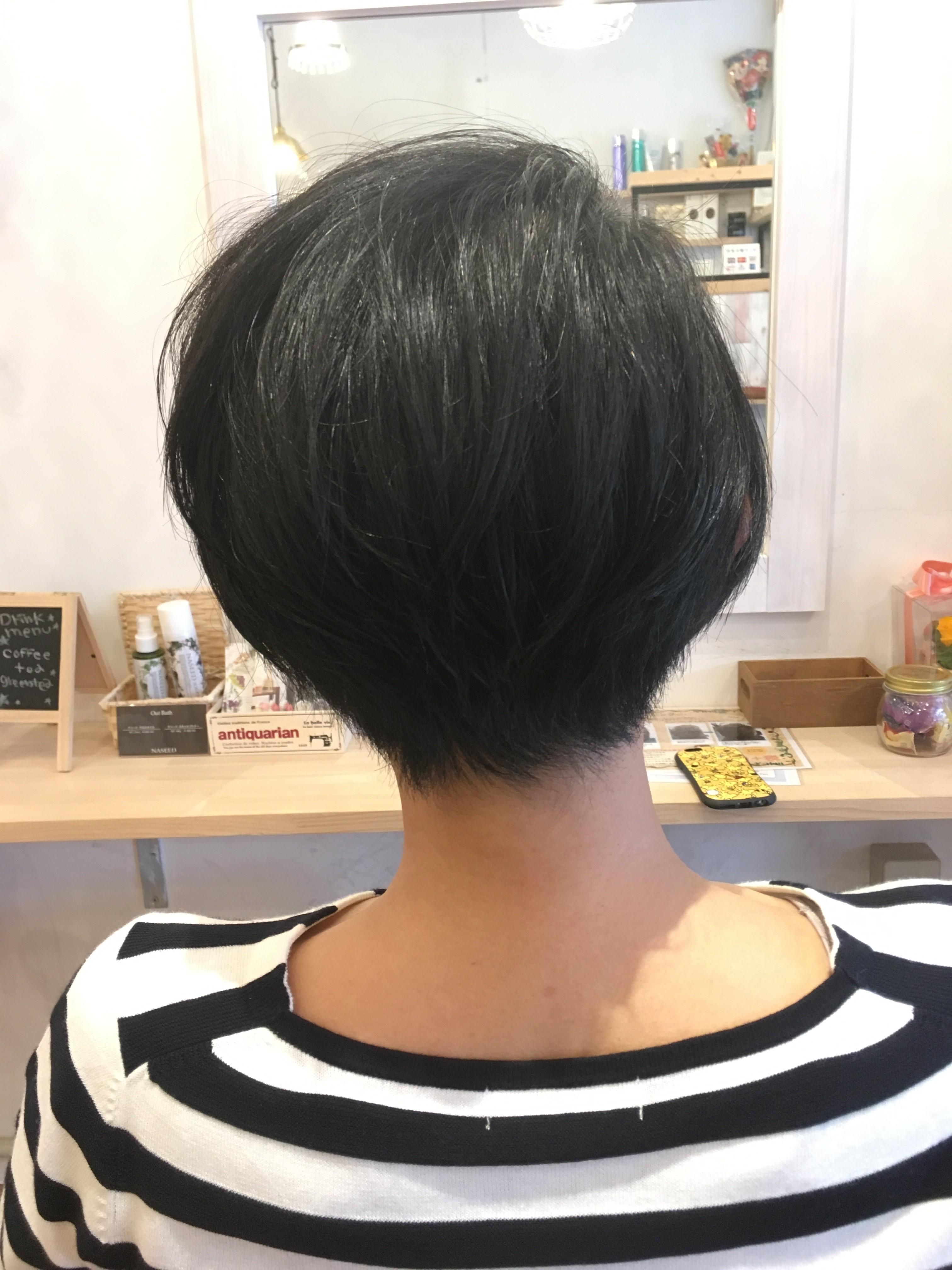 くせ毛を短く切るとこうなる