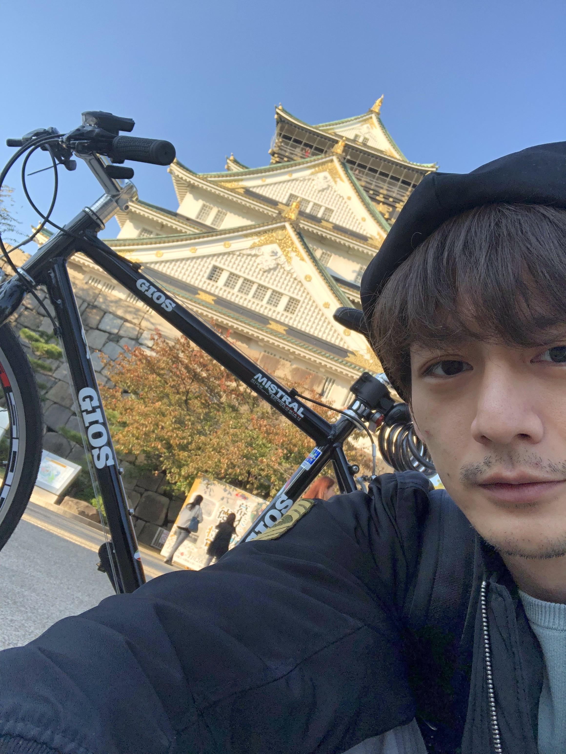 サイクリング始めました。